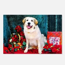 Great Pyrenees Christmas Postcards (Package of 8)