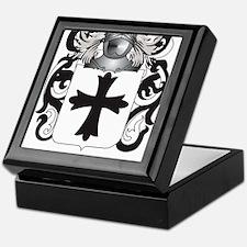 Julien Coat of Arms (Family Crest) Keepsake Box