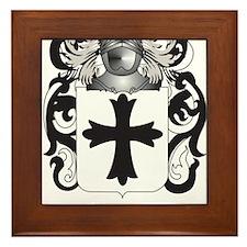 Julien Coat of Arms (Family Crest) Framed Tile