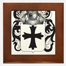 Julien Coat of Arms (Family Crest) Framed Tile