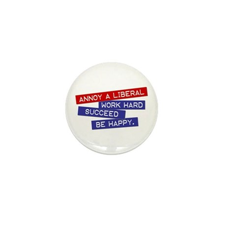 """Annoy a Liberal"" Mini Button (100 pack)"