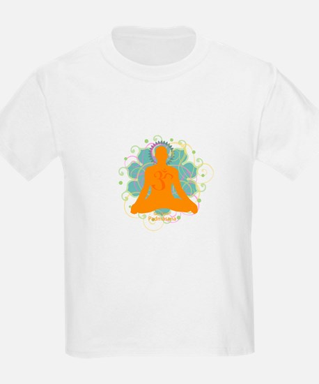 Get it Om. Male, Yoga Lotus P Kids T-Shirt