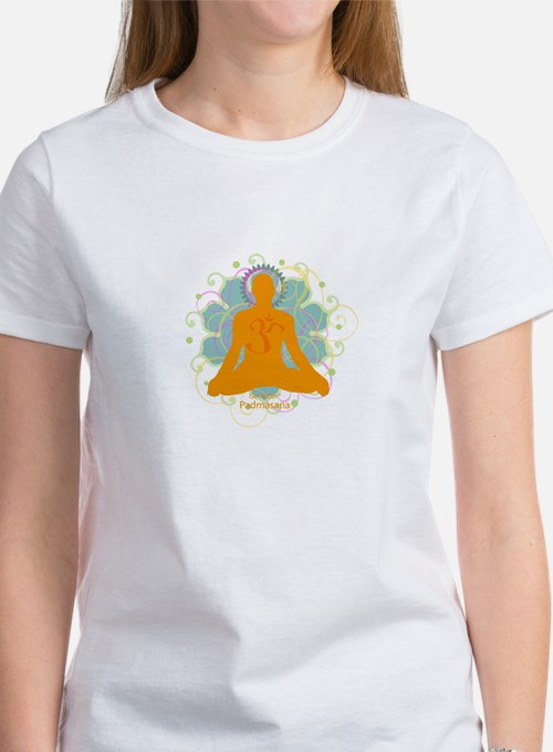 Get it Om. Male, Yoga Lotus P Tee