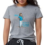 nursewhy.gif Womens Tri-blend T-Shirt