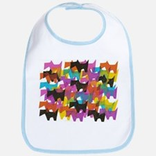 Cute Scotty dogs Bib
