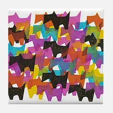 Cute Scotty Tile Coaster