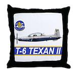 T-6A Texan II Throw Pillow