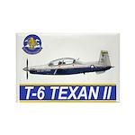T-6A Texan II Rectangle Magnet (100 pack)