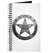 Stinkin Badge Journal