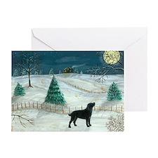 Winter Labrador Greeting Cards (Pk of 10)