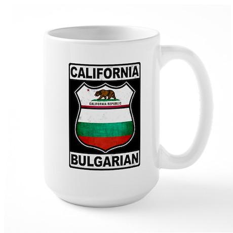 California Bulgarian American Mug