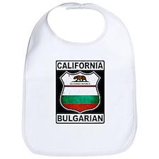California Bulgarian American Bib
