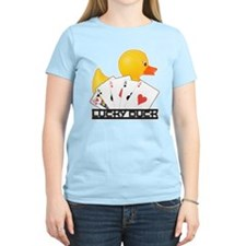 Lucky Duck Poker T-Shirt