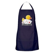Lucky Duck Poker Apron (dark)