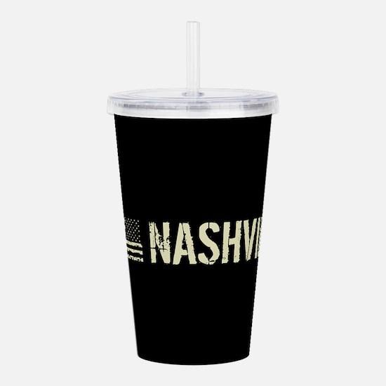 Black Flag: Nashville Acrylic Double-wall Tumbler