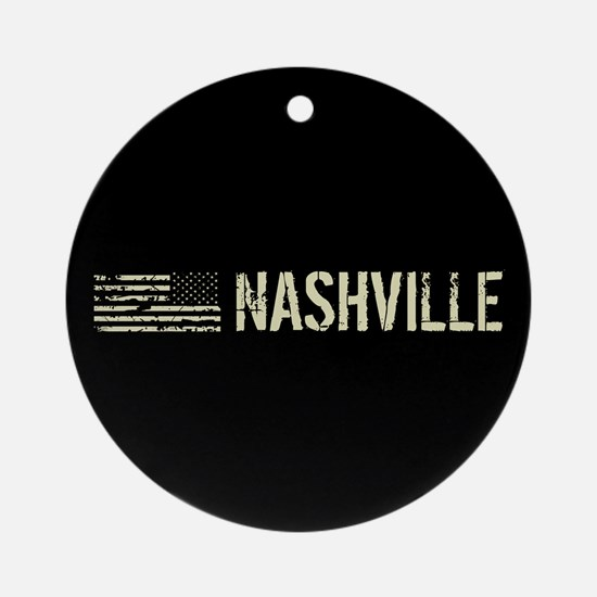Black Flag: Nashville Round Ornament