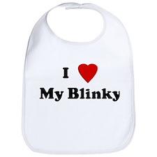 I Love My Blinky Bib
