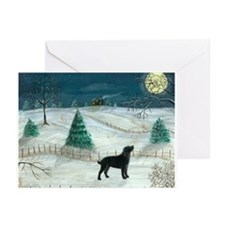 Winter Labrador Greeting Cards (Pk of 10)