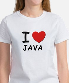 I love java Women's T-Shirt