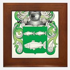 Kane Coat of Arms (Family Crest) Framed Tile
