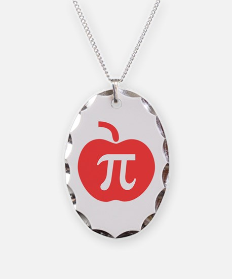 Apple Pi Necklace