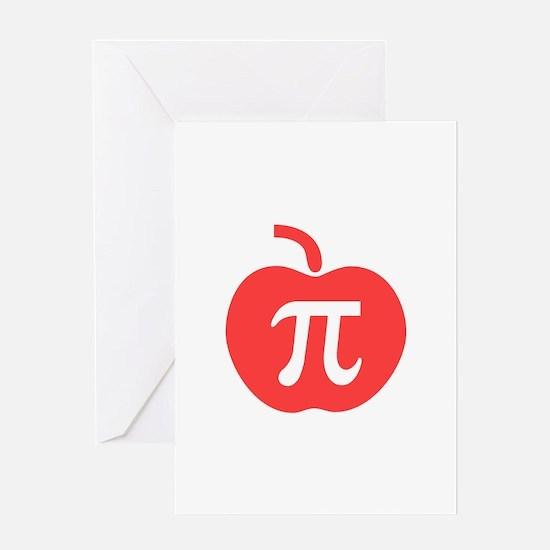 Apple Pi Greeting Card