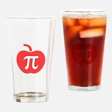 Apple Pi Drinking Glass