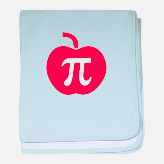 Apple Pi baby blanket