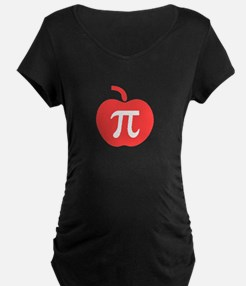Apple Pi Maternity T-Shirt