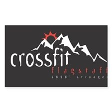 CrossFit Flagstaff Rectangle Decal