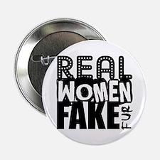 """Real Women Fake Fur 2.25"""" Button"""