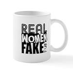 Real Women Fake Fur Mug
