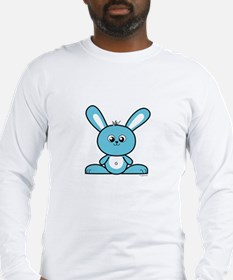Blue Bunny Long Sleeve T-Shirt