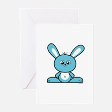 Blue Bunny Greeting Cards (Pk of 10)