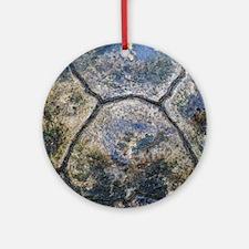 Gopher Tortoise Shell Round Ornament