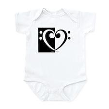 Bass Heart Music Infant Bodysuit