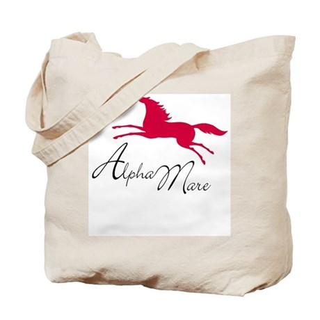 Alpha Mare Saying Tote Bag