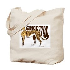 Cheetah Tote Bag