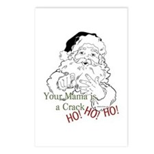 Santa Crack HO Postcards (Package of 8)