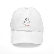 Santa Crack HO Baseball Cap
