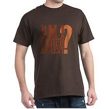 Breaking Bad: Am I Under Arrest T-Shirt