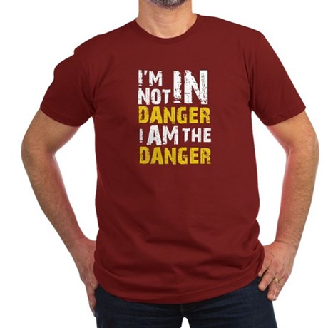 Breaking Bad: I am the Men's Fitted T-Shirt (dark)