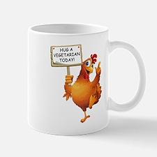 Hug A Vegetarian Today Mug