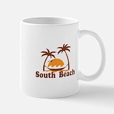 South Beach - Palm Trees Design. Mug