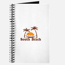 South Beach - Palm Trees Design. Journal