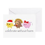 Peta christmas Greeting Cards (10 Pack)
