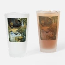 The Luncheon by Claude Monet Drinking Glass