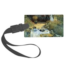The Luncheon by Claude Monet Luggage Tag