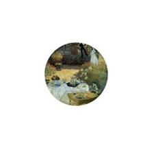 The Luncheon by Claude Monet Mini Button