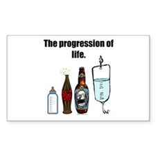 Progression of Life Rectangle Decal